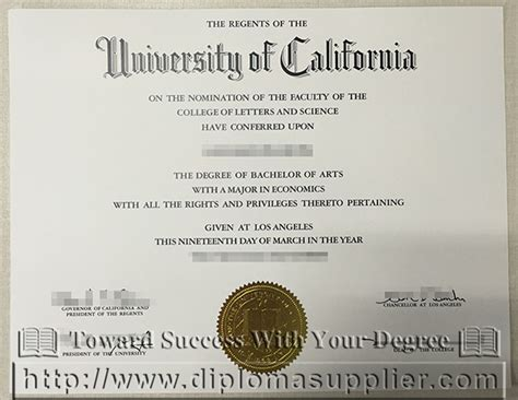 Bs Mba Diploma by Ucla Mba Degree Of California Degree Sle