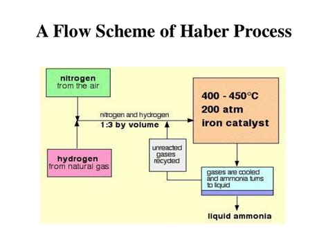 diagram of haber process ammonia