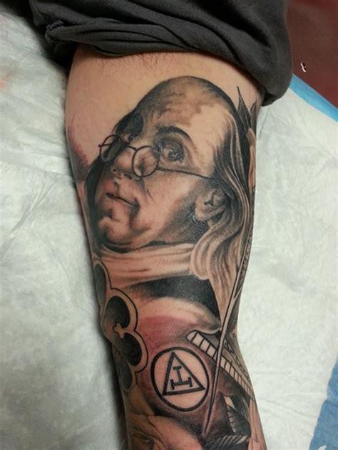 benjamin franklin tattoo rob junod springfield missouri tattooer