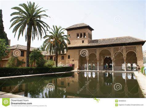 grenada pavillon spain andalusia granada alhambra palace pavilion and