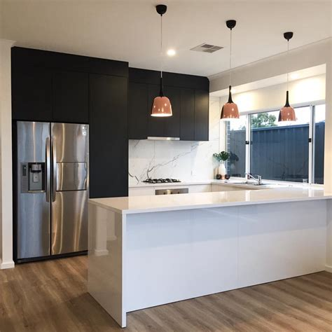 laminex kitchen ideas design by eclectic contemporary kitchen design using adelaide marble tiles laminex charcoal