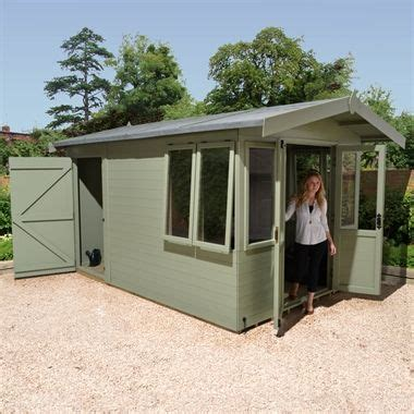 ultimate summerhouse  rear storage shed shed