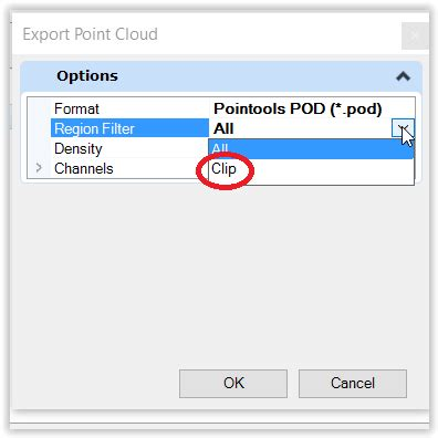 how to delete a points at point clouds? contextcapture