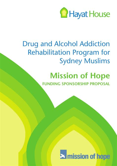 Detox Programs Sydney by Hayat House Community Project Concept By Hanan D Issuu