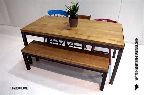 Oak Dining Table Bench Refectory Table And Bench Set
