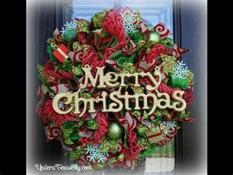 christmas items you tube wreaths deco mesh wreath