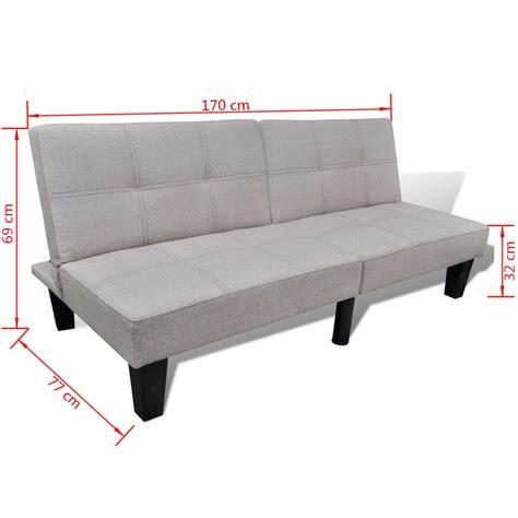 sofas de alta calidad vidaxl sof 225 cama ajustable beige de madera de alta calidad