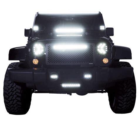american made led light bars putco 10020jk 20 quot luminix led light bar with