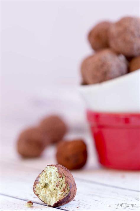 Thai Tea Matcha Coffee Choco vegan chocolate matcha truffles