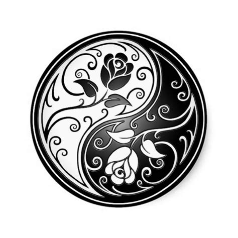 yin yang rose tattoo yin yang roses ides орнаменты фоны