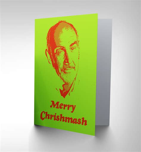 Ecard Gift Cards - christmas xmas sean connery new art greetings gift card