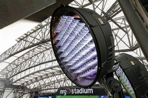 Stadium Light Fixtures Energy Efficient Led Light Installation Makes History At