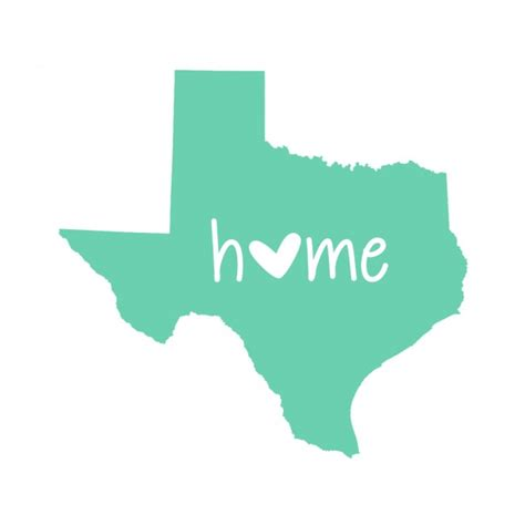 your state home decal