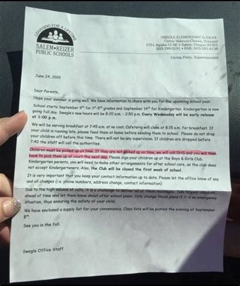 kid up letter prison planet 187 school threatens to call dhs if