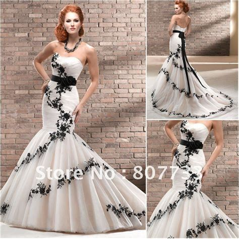 flower design wedding dresses free shipping sexy mermaid design empire waist flower