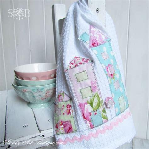 hometalk shabby tea towels