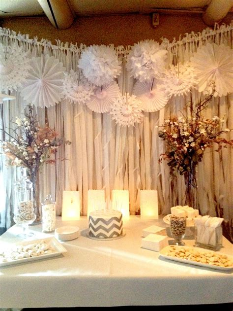 wall curtains for parties pinwheels and fabric wall covering wedding ideas
