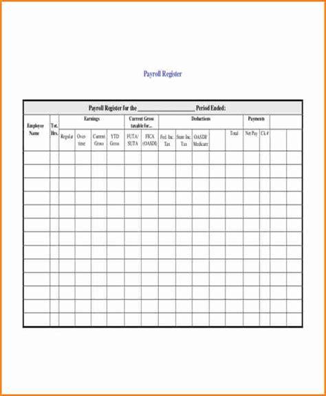 employee payroll ledger template simple salary slip