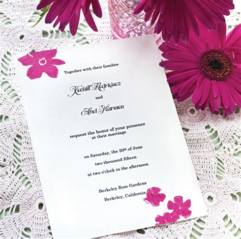 Simple Wedding Invitation Card by Simple Wedding Invitation Card Design Sang Maestro