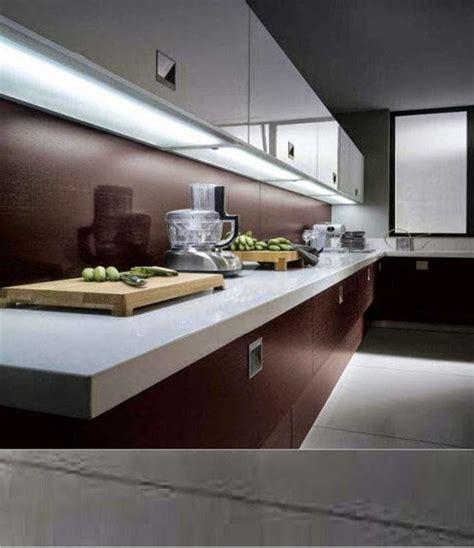 led lighting kitchen where and how to install led light strips cabinet