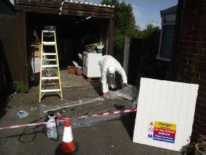 asbestos garage roof replacement leeds grimston garage asbestos roof removal leeds