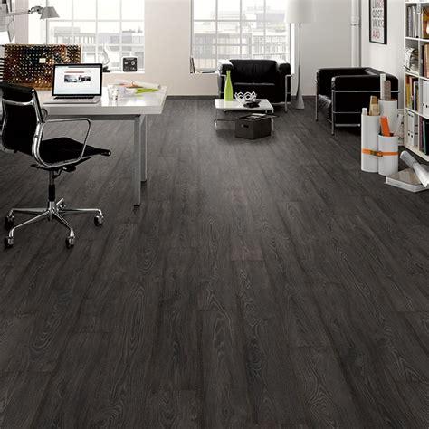black smoked oak 8mm premier elite laminate flooring