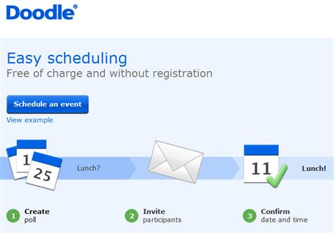 doodle create survey scheduling meetings made easy doodle