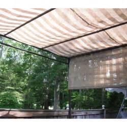 Sunbrella Pergola Canopy by Lowe S Pergola Canopy S J 106 1 Garden Winds