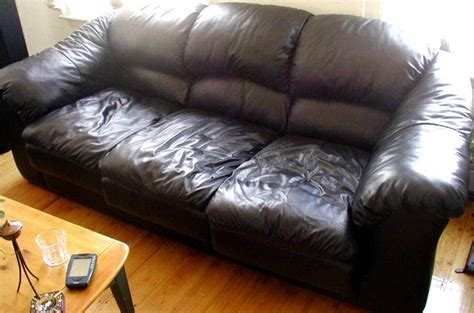 used leather couch furniture