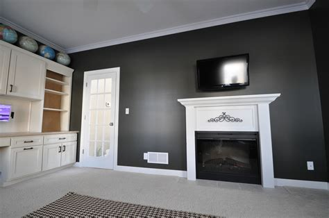 dark gray wall paint 2017 color trends for your home interior according to