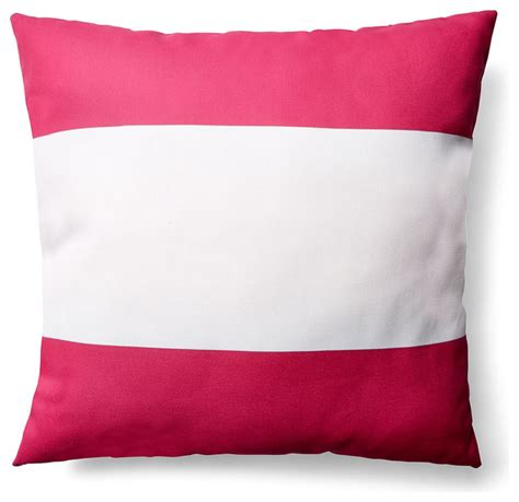 Pink Outdoor Pillows by Stripe 20x20 Outdoor Pillow Pink Scatter