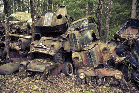 Alaska Car Dump Yard by Abandoned Cars From The World
