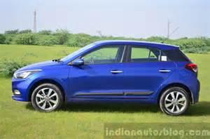 Hyundai I20 Blue Review European 2015 Hyundai I20 Vs Elite I20