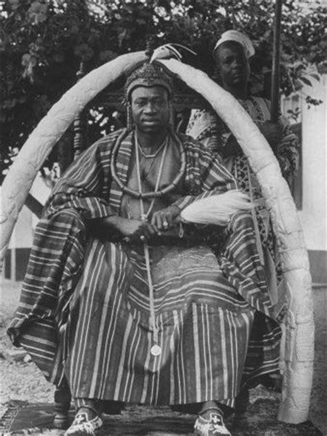 yoruba people the africa guide a yoruba tribal ruler in west nigeria sitting on a throne