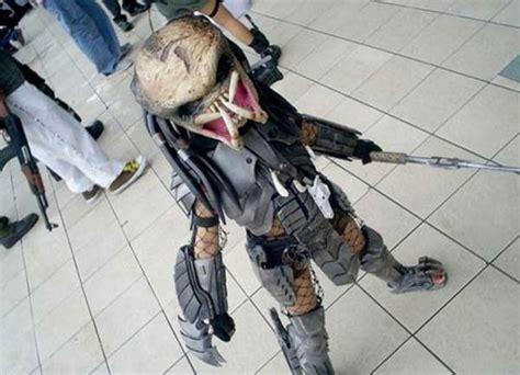 disfras de el depredador reciclado disfraces para halloween