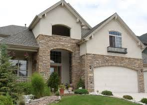 Sandstone Exterior Paint - stone brown amp gray siding khaki garage door cream taupe addition garage more pinterest