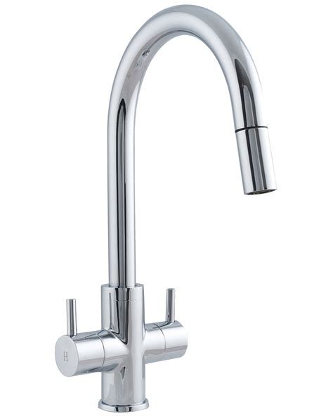 Astracast Shannon Monobloc Pull Out Spray Kitchen Sink