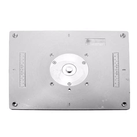 Router Table Insert Plate by Aluminum Router Table Insert Plate 235mm X 300mm X 8mm For