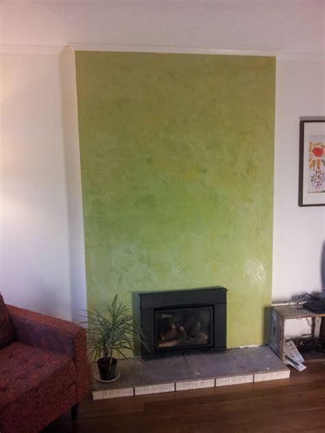 stucco fireplace surround avocado green stucco italiano fireplace surround
