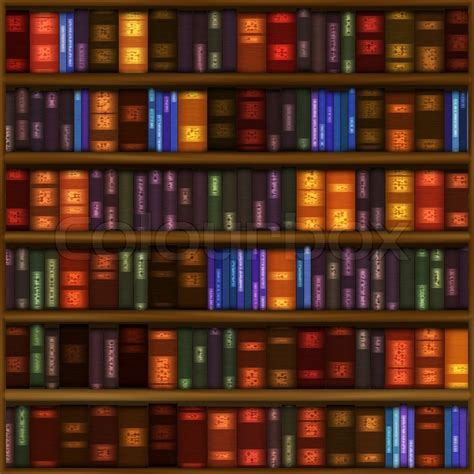 pattern texture library a seamless book shelf pattern with rows of colorful bound