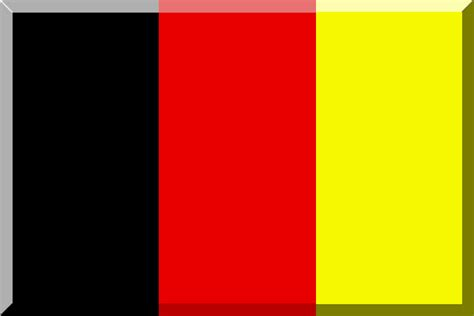 black yellow red flag file black red and yellow flag with 3d border png
