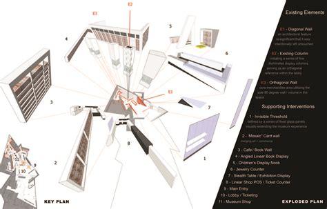 Retail Store Floor Plan gallery of denver art museum museum shop roth sheppard