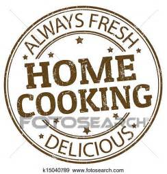 comfort foid clip art of home cooking st k15040789 search clipart