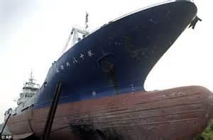 boat on building japan tsunami stranded fishing boat that became symbol of japan s