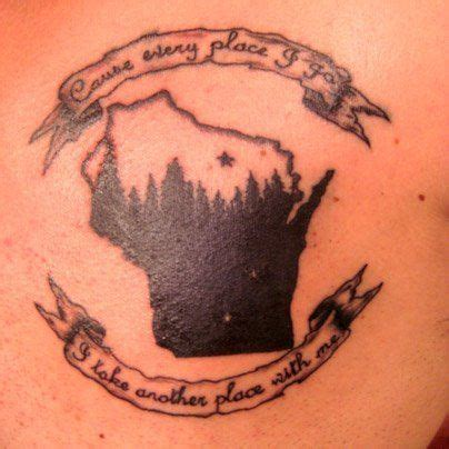 wisconsin tattoos best 25 wisconsin tattoos ideas on