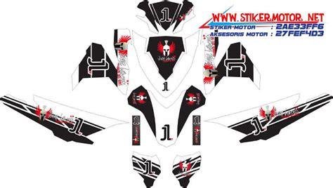 Striping Vario Techno Ac Milan striping motor vario esp spesial jorge lorenzo edition stikermotor net