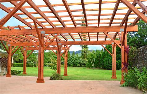 custom wooden pergola redwood pergola kits all sizes shapes