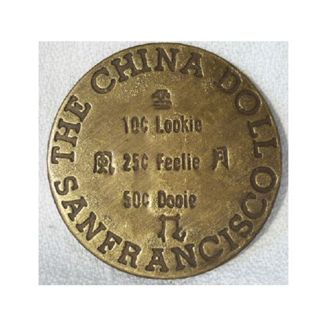 the china doll dodge city coin western tokens