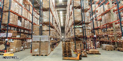 layout gudang logistik distributors jaguar industries
