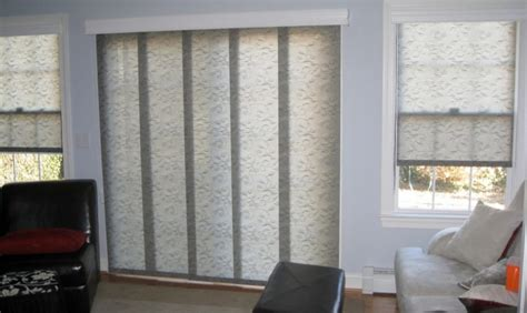 Panel Track Blinds Panel Track And Roller Shades There Are Lots Of Fabrics